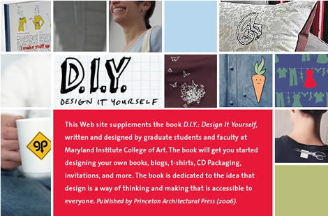 Design It Yourself - Buch und Webseite