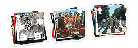 Beatles Briefmarken
