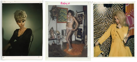 Stripper-Polaroids aus den 60ern