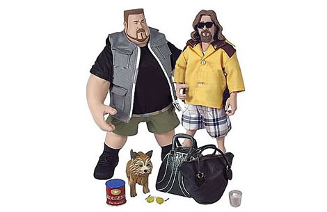 Der Dude und Walter - Big Lebowski Action Toys