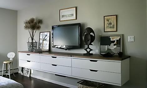 ikea stolmen sideboard mediarack stylespion. Black Bedroom Furniture Sets. Home Design Ideas