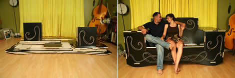 Flat Pack Couch und andere Idee - von Because We Can