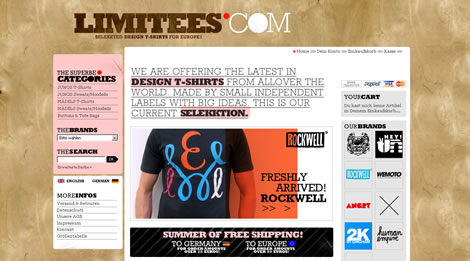 Limitees.com – Selekkted Shirt Shop