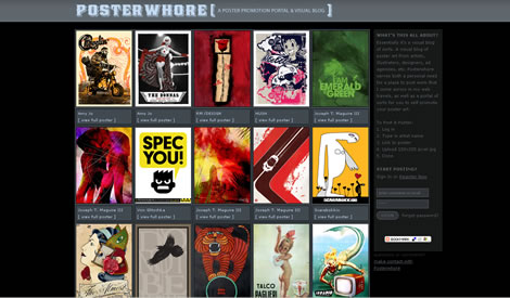 Posterwhore.com – Poster Promotion