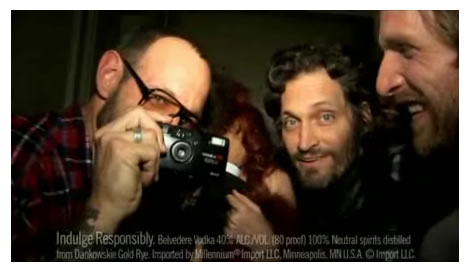 Terry Richardson, Vincent Gallo und RZA