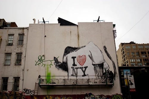 Banksy in SoHo 2