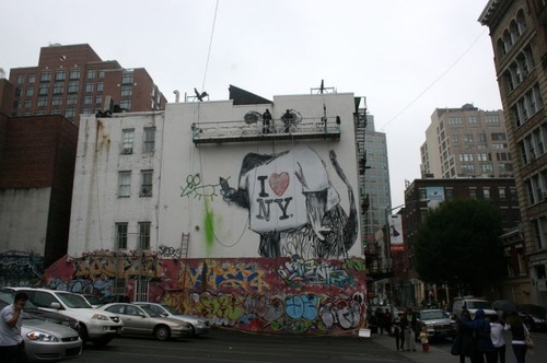 Banksy in SoHo 3