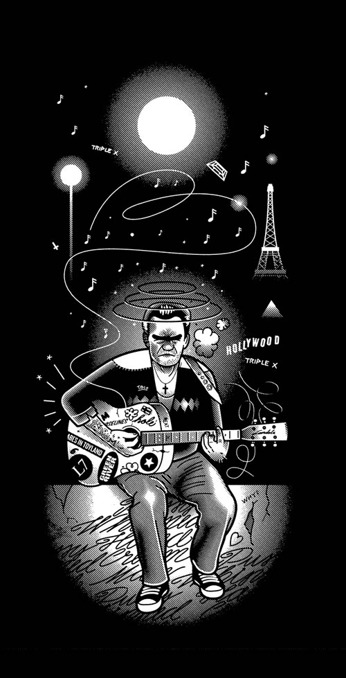 johnny cash by rami niemi