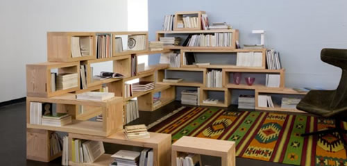 Modulare Regalsysteme play shelf morgen studio stylespion