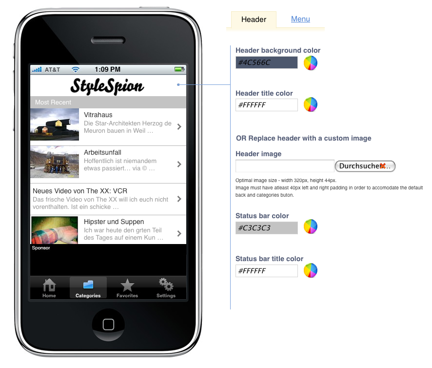 stylespion-iphone-app