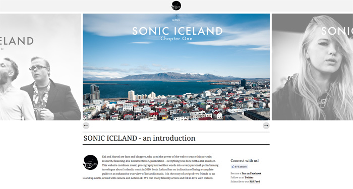 sonic-iceland-website